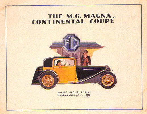 MG|Magna, Continental Coupe