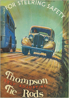 Thompson|Self Adjusting Tie Rods