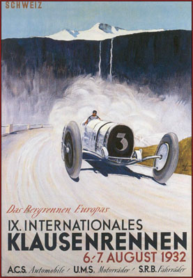 IX. Internationales Klausenrennen|6-7 August 1932